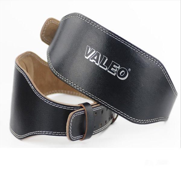 Đai Lưng Cứng Da Bò Tập GYM Valeo Lifting Belt