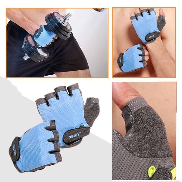 Găng Tay Tập GYM, Tập Thể Hình Gloves Aolikes AL-112