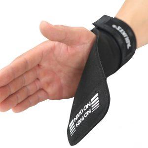 Găng Tay Tập GYM Lifting Grips Aolikes Pro Hở Mu Bàn Tay (1 Đôi)