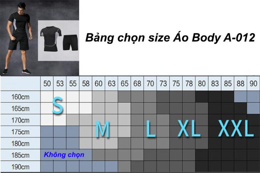 áo tập gym nam body