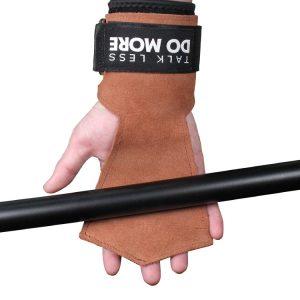 Găng Tay Tập GYM Hở Mu Da Bò Wrist Guard Aolikes (1 Đôi)