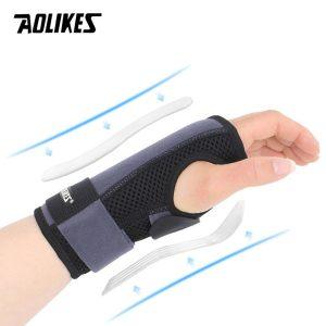 Đai Nẹp Cổ Tay H1 Aolikes Hỗ Trợ Cố Định Cổ Tay, Giảm Chấn Thương Cổ Tay Wrist Support Brace