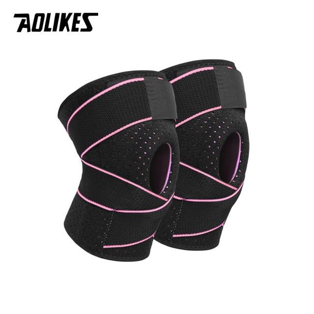 Băng Bảo Vệ Đầu Gối 4 Lò Xo Sport Knee Support