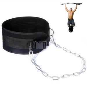 Đai Đeo Bụng Treo Tạ Dip Belt with Chain Hỗ Trợ Tăng Trọng Lượng Cho Các Bài Pull Up, Squat