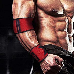 Băng Quấn Bảo Vệ Khuỷu Tay Thể Hình Elbow Brace Bản Cao Cấp (1 Đôi)